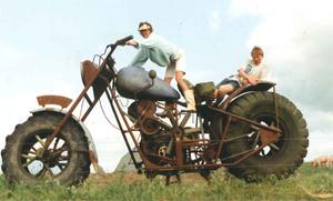 Philips motorcykel